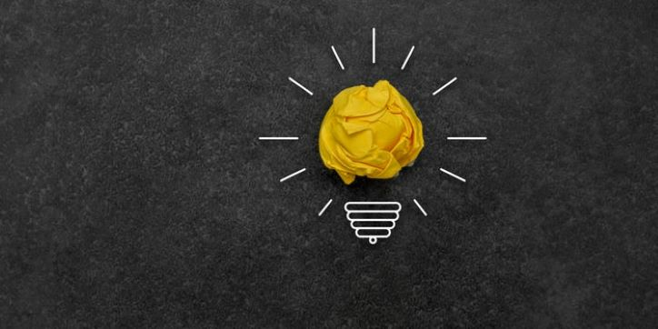 Artistic lightbulb | Ideas for Holiday Marketing Campaign