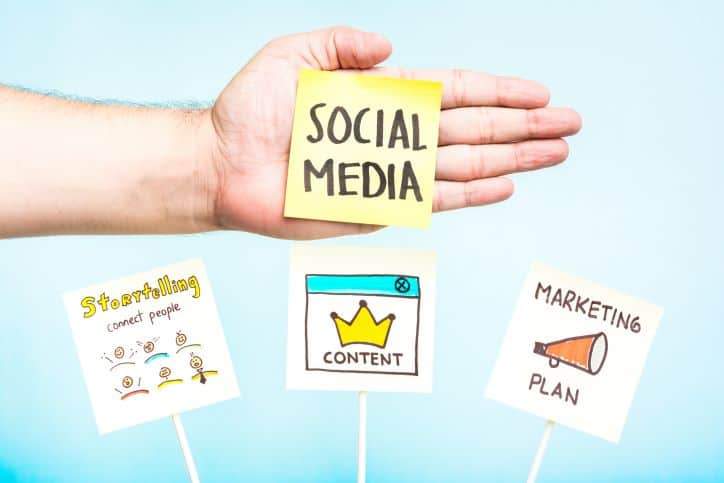 Social media content marketing plan