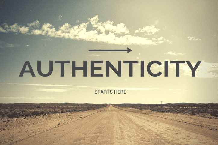 Authenticity Starts Here - Desert Road