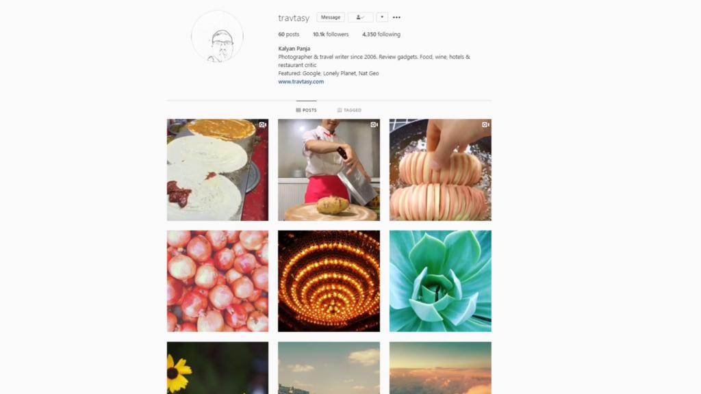 Travtasy Instagram Account   Kalyan Panja