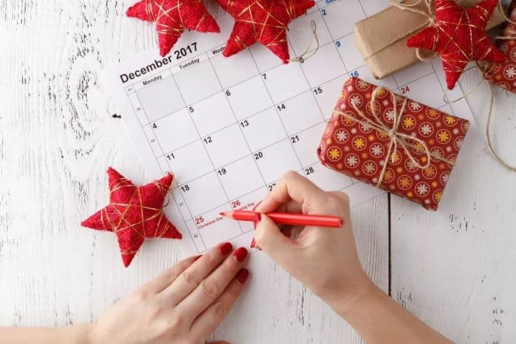 Schedule your December marketing campaign