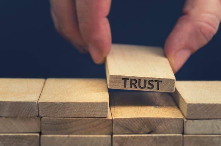 "Building blocks. Lifting the ""trust"" block."