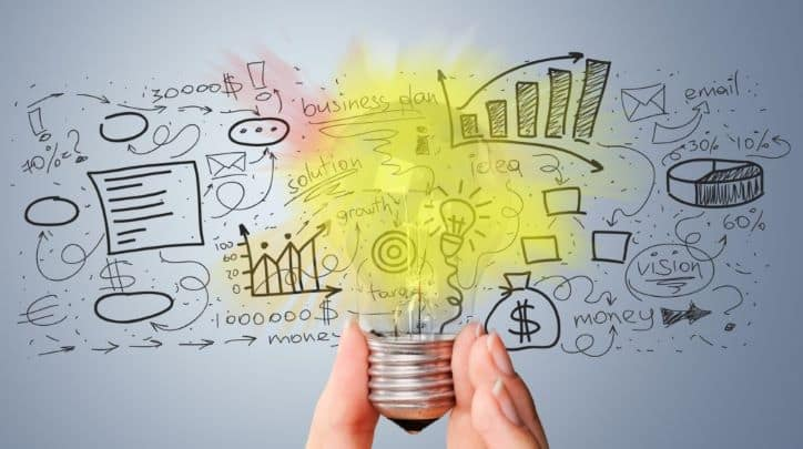 Brainstorming influencer marketing ideas