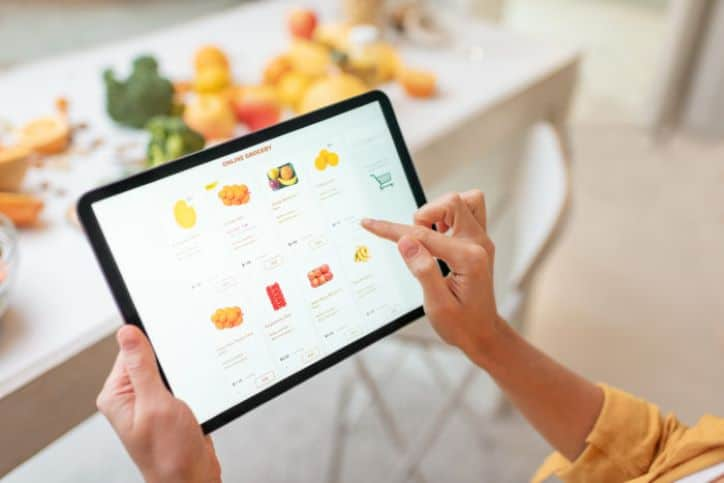 Online Grocery Shopping - Alternate Sales Avenues to Protect Your Small Business