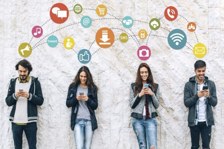 Finding Social Media Influencers | Happily Engaging on Phones