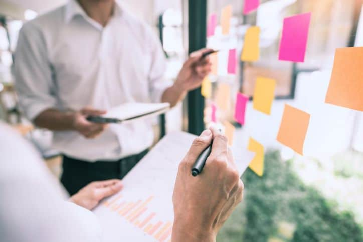 Brand delegates planning content for viral challenges
