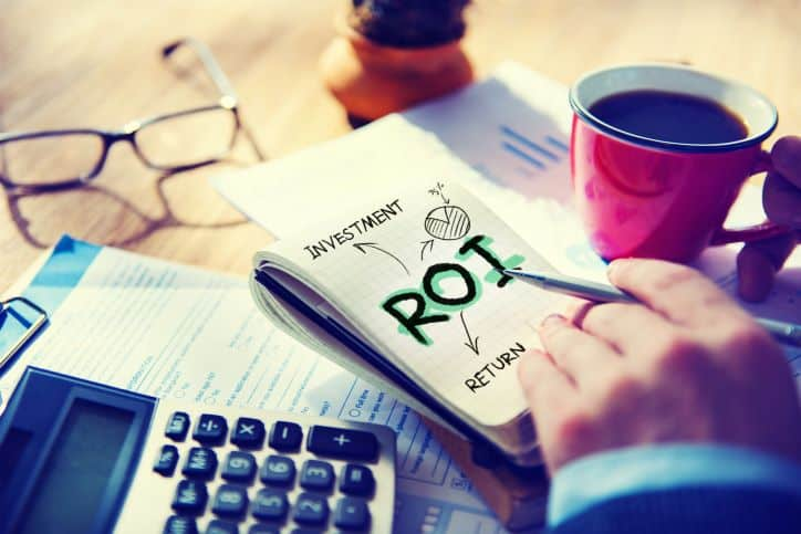Calculating ROI for the business