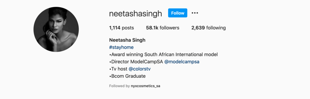 Neetasha Singh | Top Beauty Influencers