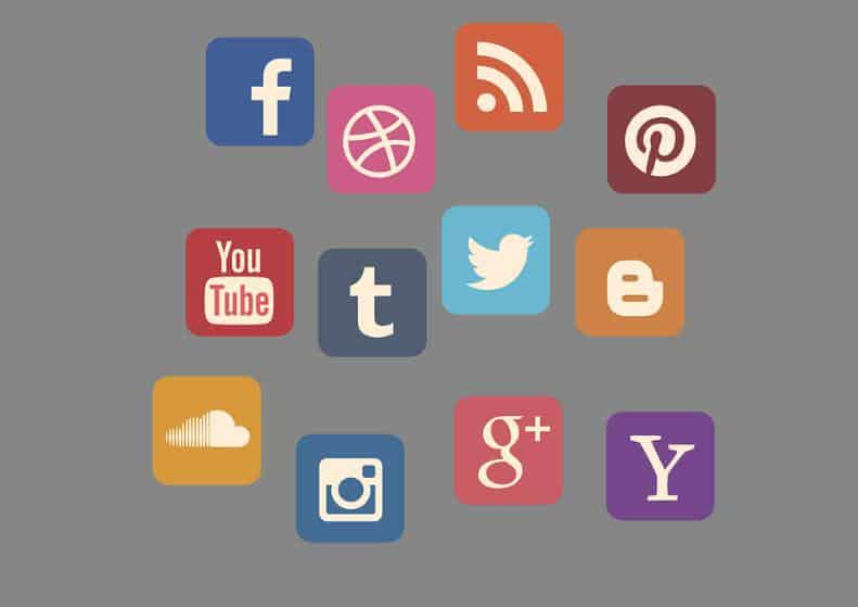 Social Media Influencing App Icons