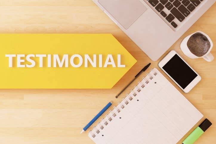 Influencer Testimonials
