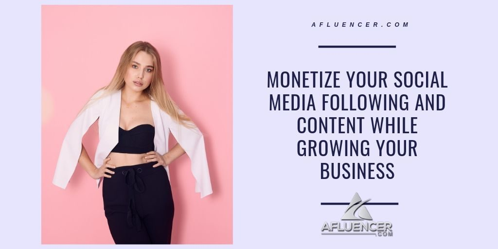 how to make money as a social media influencer