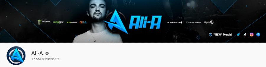 Ali A   Gaming YouTuber