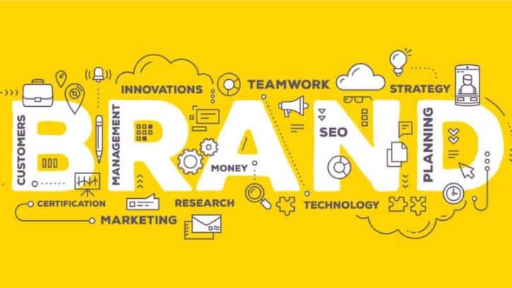 Brand Marketing Campaign Strategy Illustration