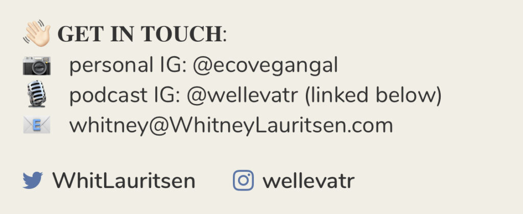 Whitney Lauritsen contact details