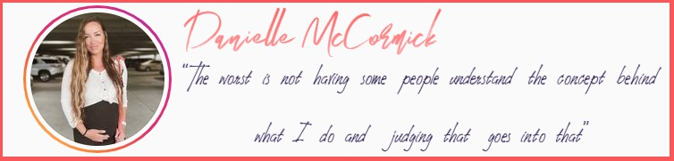 Danielle McCormick Quote | Afluencer interviews professional influencers