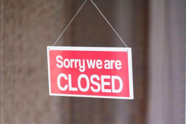 Sorry We Are Closed - Protect Your Small Business