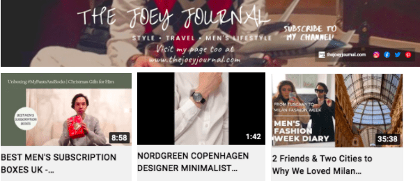 Joey de Cordero | Lifestyle & Travel Youtube Videos | Influencers Featured on Afluencer