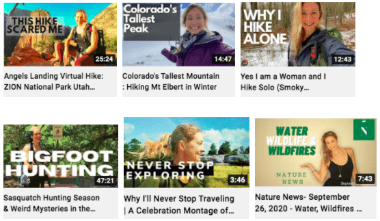 Alice Ford | Featured YouTube Videos