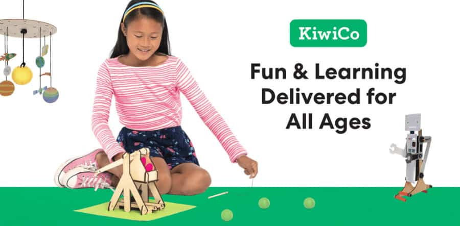 Girl Playing and Learning with KiwiCo toys | Brands Looking fro Instagram Ambassadors
