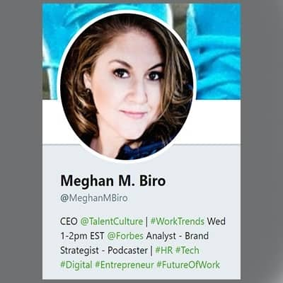 Meghan Biro   HR Influencers Featured on Afluencer