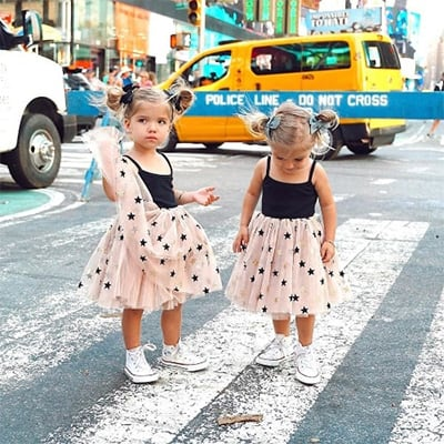 Fisher Twins Photoshoot on Street