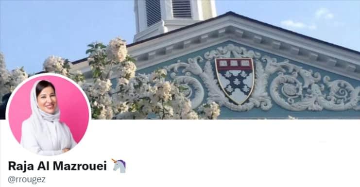 Raja Al Mazrouei   Twitter Profile   Executive Vice President of FinTech Hive