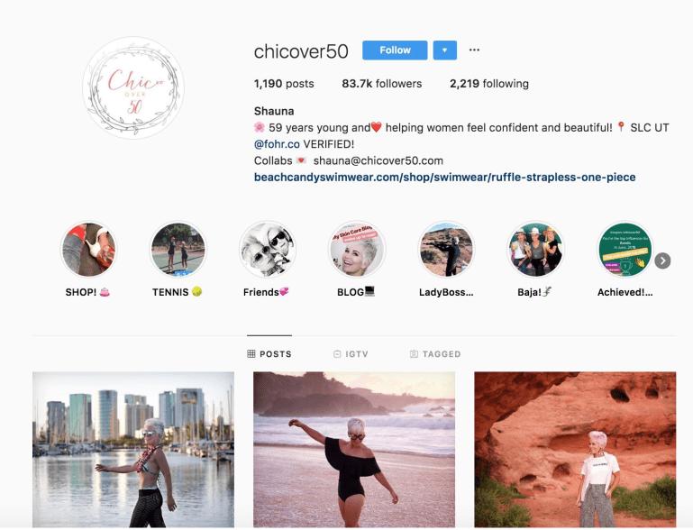 Social Media Influencers Over 50 | Shauna Robertson
