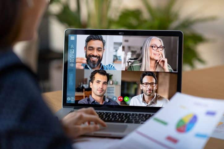 Video Conferencing: Strategizing Plans with Brand Ambassadors