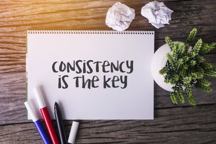 consistency is key to a successful influencer marketing campaign