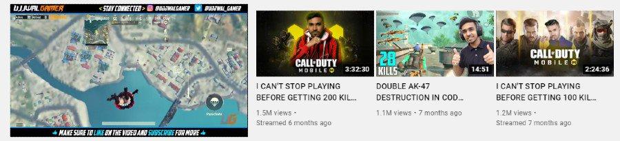 Ujjwal Gamer   Youtube Channel Highlights
