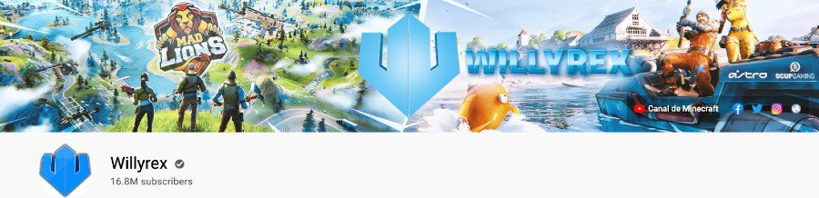 Willyrex Youtube Channel   Profile banner